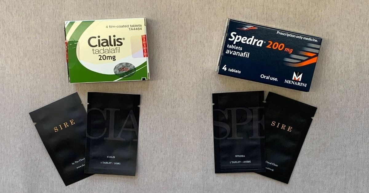 ED pills cialis vs spedra
